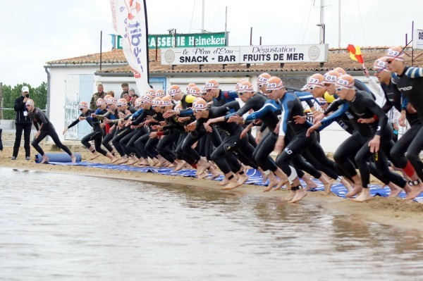Triathlon Départ ETU Junior European Championships