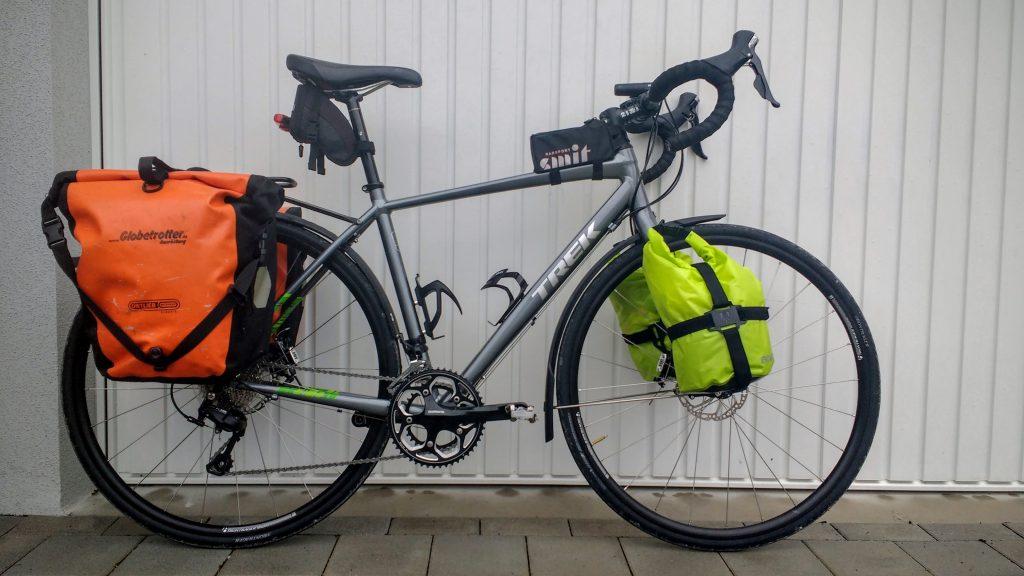 Ann Parthemore Trek bike used for 17,000km ride