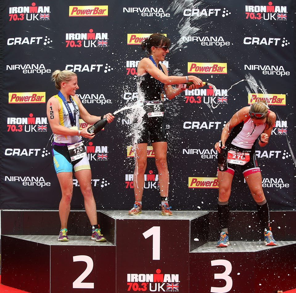 Claire Wood podiums at Ironman UK