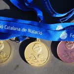 Chantal Kibbey Gold and Bronze Medals at the Catalan Swimming Championships - Masters