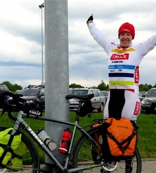 Ann Parthemore Bike Ride Germany to Estonia