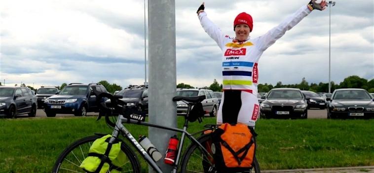 Ann Parthemore Bike Ride Germany to Estonia