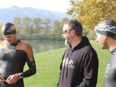 Richard Laidlow SAncture Tri Coach Open Water Swim Training